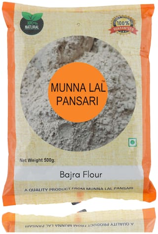 Munna Lal Bajra Atta,Pearl Millet Flour 500g