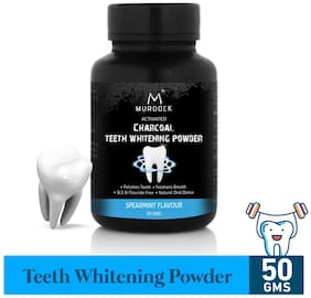 Murdock Charcoal Teeth Whitening Powder (dantmanjan) 50 g
