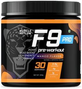 Muscle Asylum F9 Pro Pre-Workout - 30 Servings;300g (Mango)