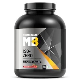 MuscleBlaze Iso - Zero 4.4 lb /2 kg - Strawberry