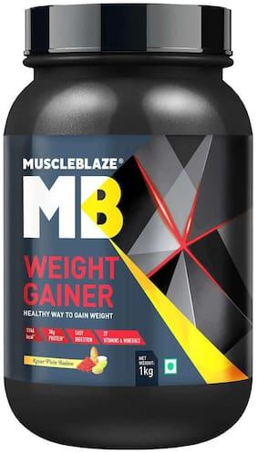 Muscleblaze Weight Gainer (1 kg Kesar Pista Badam)