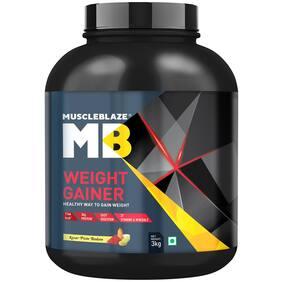 Muscleblaze Weight Gainer (3 kg Kesar Pista Badam)