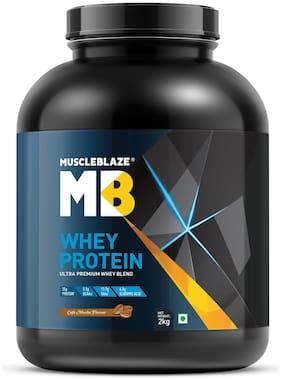 MuscleBlaze Whey Protein (2 kg, Cafe Mocha)