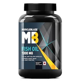 Muscleblaze Fish Oil 1000 mg - 180 Soft Gelatine Capsules