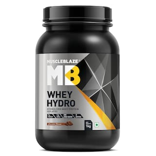 MuscleBlaze Whey Hydro, 2.2 lb Rich Milk Chocolate