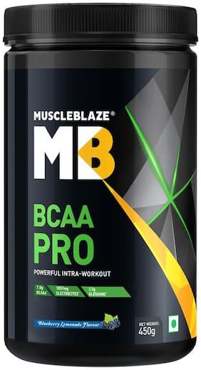 MuscleBlaze BCAA Pro - 450 g (Blueberry Lemonade)