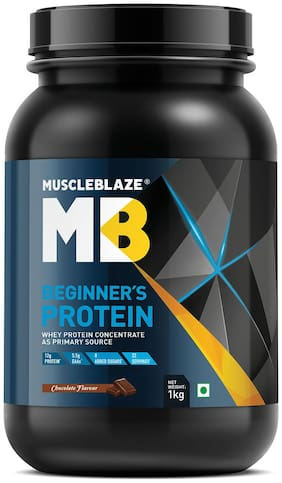Muscleblaze Beginners Protein 2.2lb/1 kg - Chocolate