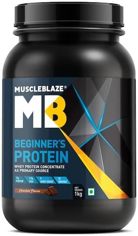 Muscleblaze Beginners Protein 2.2lb/1 kg - Chocolate