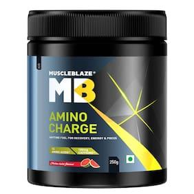 MuscleBlaze Amino Charge; 0.55 lb 31 Servings Melon Twist; 250g