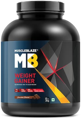 MuscleBlaze Weight Gainer (Chocolate; 2kg / 4.4lb)