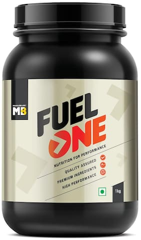 MuscleBlaze Fuel One Whey Protein; (Chocolate; 1 kg/ 2.2 lb)