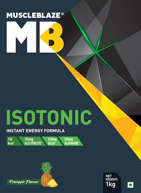 Muscleblaze Isotonic Instant Energy Formula 2.2 lb/1 kg - Pineapple