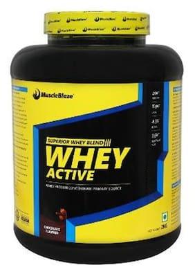MuscleBlaze Whey Active , 2 kg / 4.4 lbs Chocolate