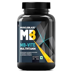 Muscleblaze Mb-Vite Multivitamin - 60 Tablets