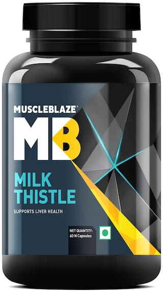 Muscleblaze Milk Thistle Liver Support Formula - 60 Capsules