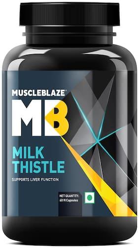 Muscleblaze Milk Thistle Liver Support Formula - 60 Capsules