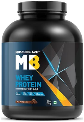 MuscleBlaze Whey Protein 4.4 Lb/2 Kg - Rich Milk Chocolate