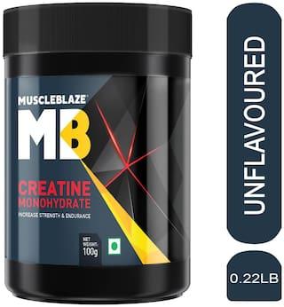 Muscleblaze Micronized Creatine Monohydrate 100 g Unflavored