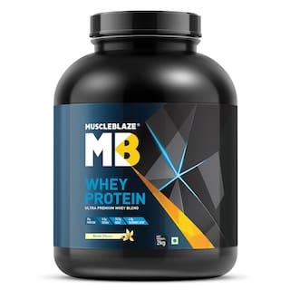 Muscleblaze Whey Protein 4.4 lb/2 kg - Vanilla