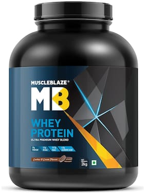 Muscleblaze Whey Protein 4.4 lb/2 kg - Cookies & Cream
