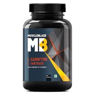 Muscleblaze L-Carnitine L-Tartrate - 60 Capsules