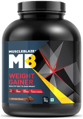 Muscleblaze Weight Gainer 6.6 Lb/3 kg - Chocolate