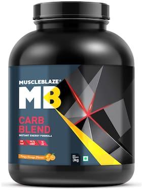 Muscleblaze Carb Blend 6.6 lb /3 kg - Tangy Orange