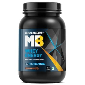 Muscleblaze Whey Energy With Digezyme 2.2 lb/1 kg - Chocolate