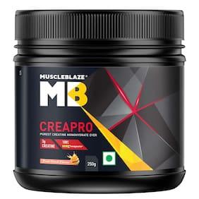 MuscleBlaze CreaPRO Creatine with Creapure 250 g Fruit Punch