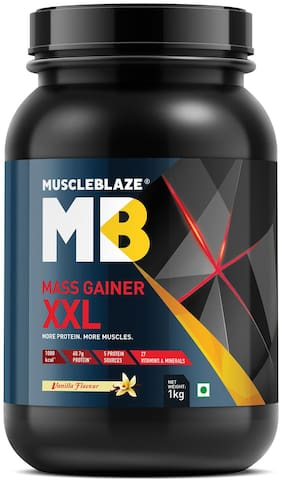 Muscleblaze Mass Gainer XXL 2.2 lb Vanilla