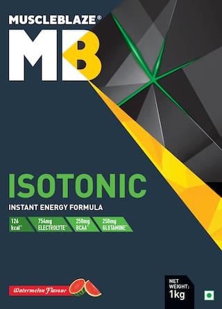 Muscleblaze Isotonic Instant Energy Formula 2.2 lb/1 kg - Watermelon