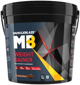 MuscleBlaze Weight Gainer - 5 kg (Chocolate) (Pack of 1)
