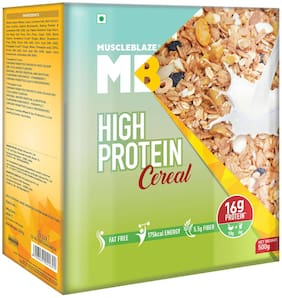 Muscleblaze High Protein Cereal - 500 gm