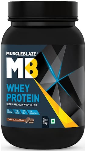 Muscleblaze Whey Protein 2.2 lb/1 kg - Cookies & Cream