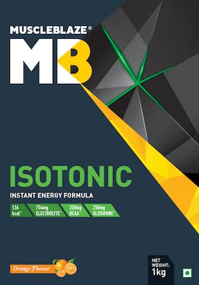 Muscleblaze Isotonic Instant Energy Formula 2.2 lb/1 kg - Orange