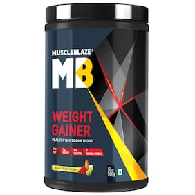 Muscleblaze Weight Gainer (0.5 g Kesar Pista Badam)
