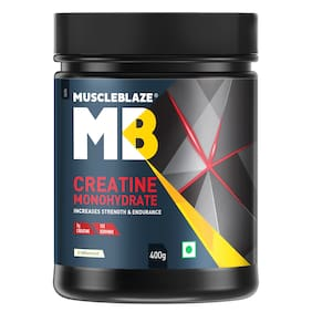 MuscleBlaze Creatine Monohydrate;400g;Unflavoured