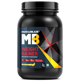 Muscleblaze Weight Gainer (Banana 1 kg /2.2 Lb)