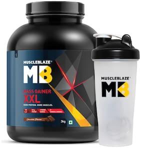 Muscleblaze Mass Gainer XXL 6.6 lb/3 kg - Chocolate (Shaker Free)