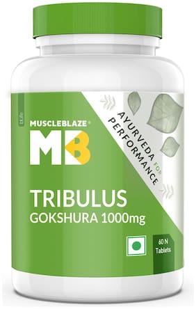 MuscleBlaze Ayurveda for Performance- Tribulus 1000mg  60 tablet(s) Pack of 1