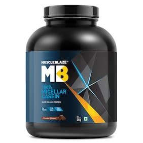 Muscleblaze 100% Micellar Casein With Digenzyme 4.4 lb/2 kg - Chocolate