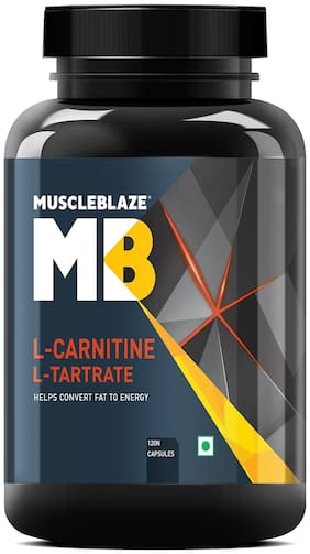 Muscleblaze L-Carnitine L-Tartrate - 120 Capsules
