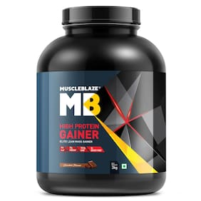 Muscleblaze High Protein Gainer 6.6 lb - 3 kg - Chocolate