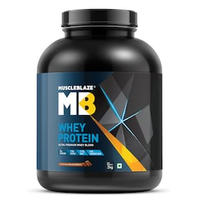 MuscleBlaze Whey Protein (Irish Cream, 2 kg / 4.4 lb)