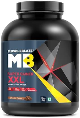 Muscleblaze Super Gainer XXL 6.6 lb/3 kg - Chocolate