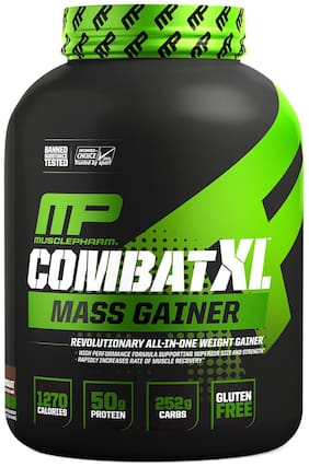 MusclePharm Combat XL Mass Gainer Chocolate 8 Servings 6 lb