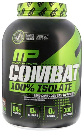 MusclePharm Combat 100% Isolate Whey Protein (2.27 kg, Chocolate Milk)