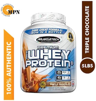 Muscletech 100% Premium Whey Protein Plus 2.27 kg- Tripple Chocolate