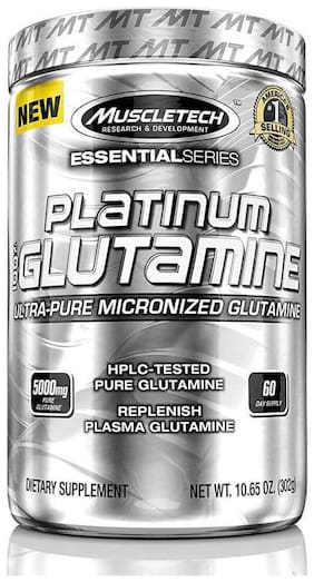 Muscletech Essential Series 100% Platinum Glutamine 302 gm