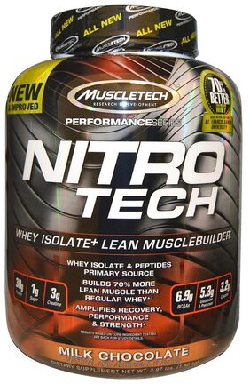 Muscletech Performance Series Nitrotech 1.81 kg Milk Chocolate